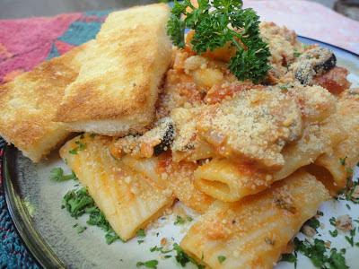 Tuna Pasta in Creamy Marinara Sauce