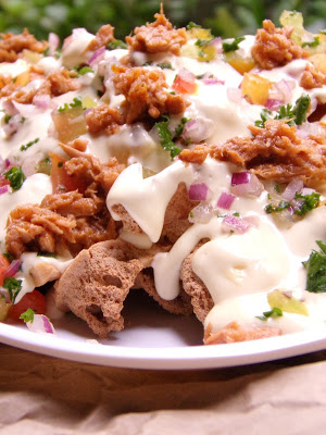 Tofu Tuna Nachos