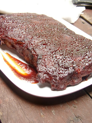 Cranberry Pork Ribs Barbecue