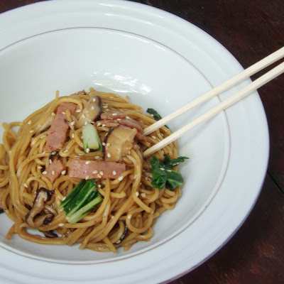 Stir Fried Noodles Yakisoba-style