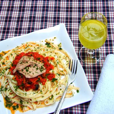 Creamy Pasta in Tuna Marina Sauce