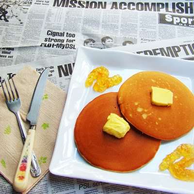 Pancakes a la Kusina ni Teds