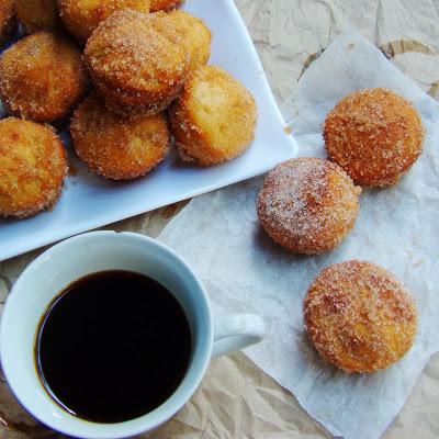 Sugar Cinnamon Rolled Jackfruit Donut