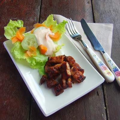 Filipino-style Grilled Pork Belly