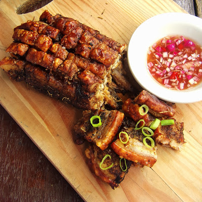 Roasted Layered Herbed Pork Belly Strips