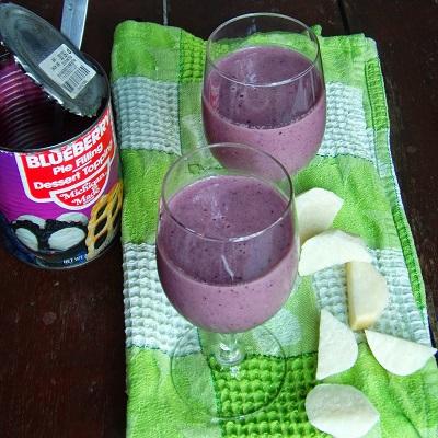 Blueberry and Jikama Shake