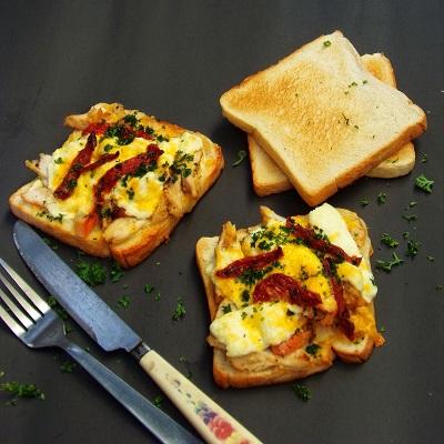 Leftover Chicken Sandwich