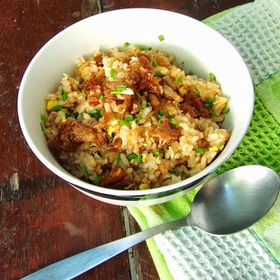 Budbud Fried Rice a la Kusina ni Teds