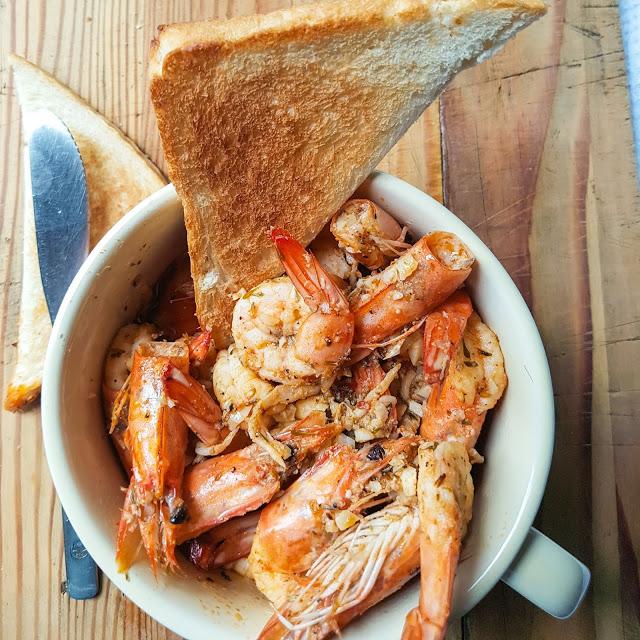 Buttered Garlic Prawn Recipe