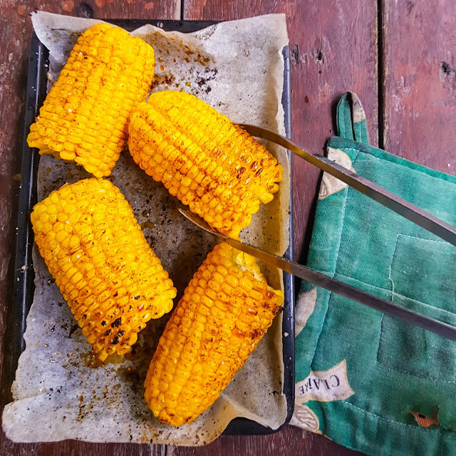 Baked Buttered Corn
