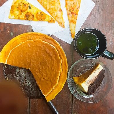 Not So Sugar-free Cheesecake Brownie