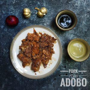 Pinoy Pork Ribs Adobo