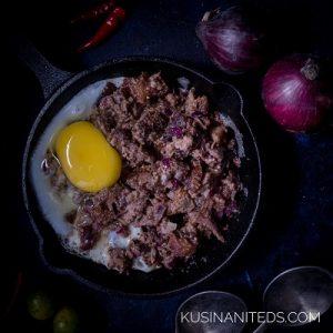 Fried Pork Sisig Recipe