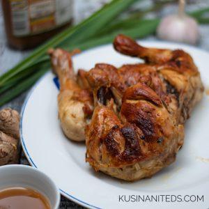 Baked Chicken Inasal Recipe
