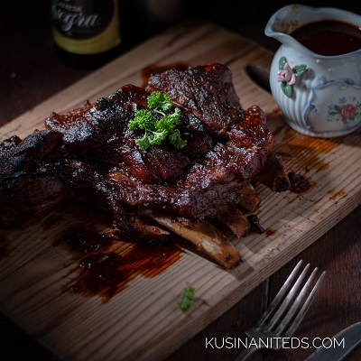 Pork Ribs Recipe:  A Quick Recipe Cooked in One Hour