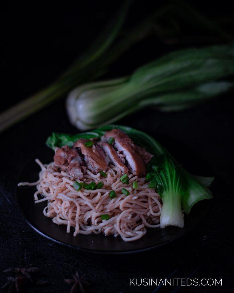 Braised Chicken Noodle