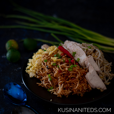 Crispy Stir Fried Noodles: Inspired by Thai's Mee Krob Recipe