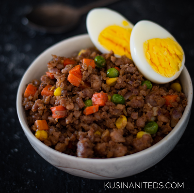 Ginisang Giniling Recipe: Sautéed Ground Pork and Mixed Vegetables