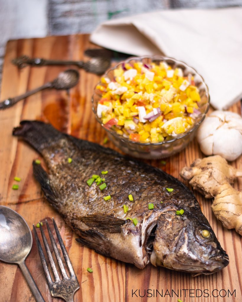 Oven Grilled Tilapia