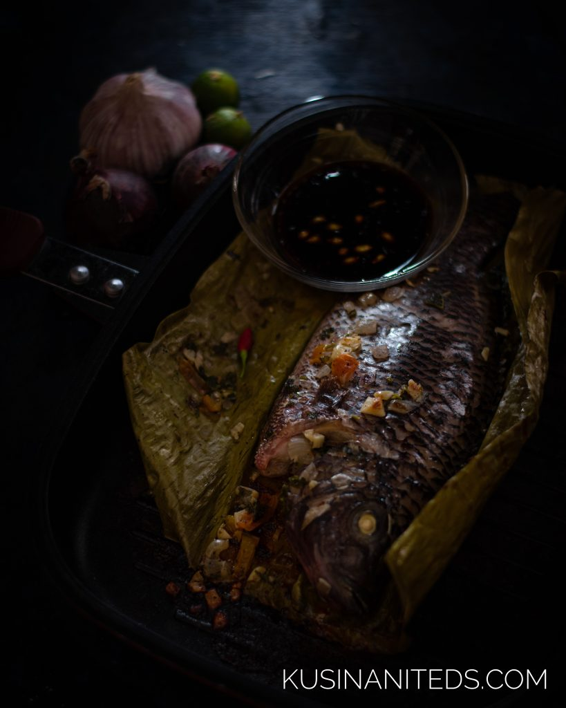 Pan Grilled Stuffed Tilapia