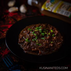 Saucy Shredded Beef Tapa