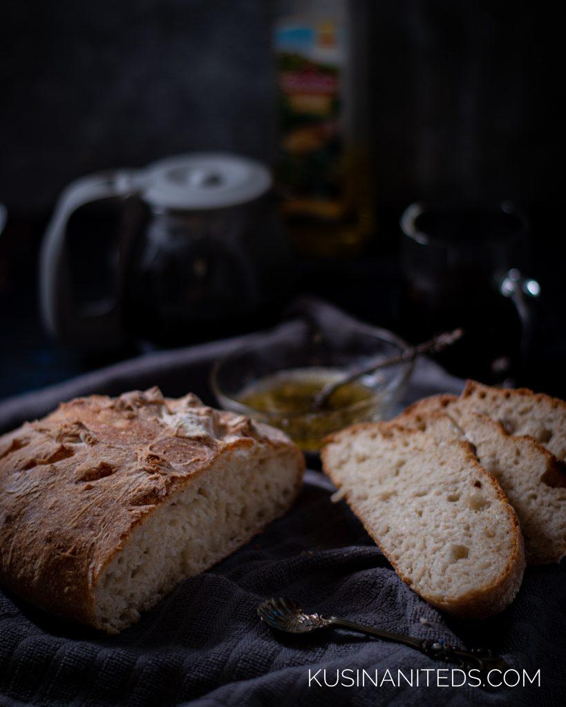 Homemade Crusty Bread Recipe IG